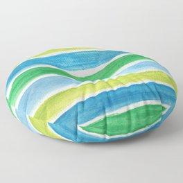 Sea Stripes Floor Pillow