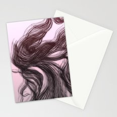 hair (1) Stationery Cards