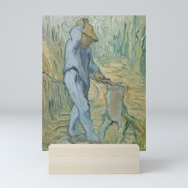 The Woodcutter (after Millet) Mini Art Print