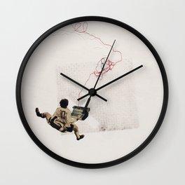 coded speech Wall Clock