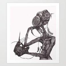 GET YOUR RAT OUT Art Print