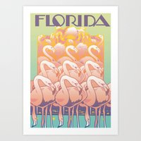 florida Art Prints featuring Florida by David Chestnutt