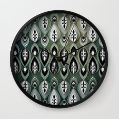 Pierrot II/Memoir Pattern Wall Clock