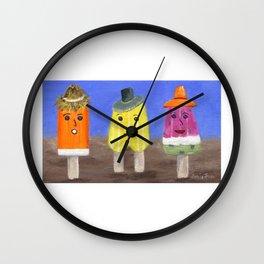 Summer Yummers Wall Clock
