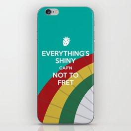 Everything's Shiny Cap'n! (Parasol) - Kaylee iPhone Skin