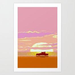 Croisette Art Print