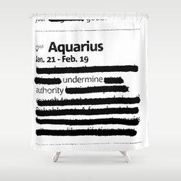 Aquarius 1 Shower Curtain