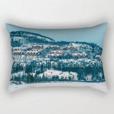 Winter Night Rectangular Pillow