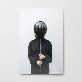 Behind the balloon Metal Print