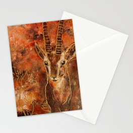 African Antelope Stationery Cards