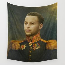 Steph Curry Classical Painting Wall Tapestry