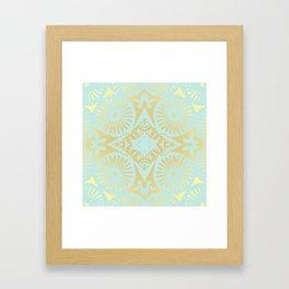 goldmint flowerpower 3 Framed Art Print