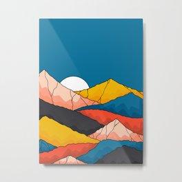 The mountainous range  Metal Print