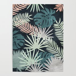 Tropicalia Night Poster