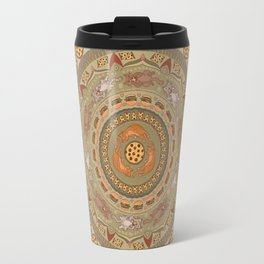 Cat Mandala Travel Mug