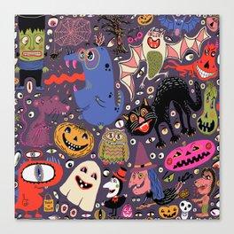 Yay for Halloween! Canvas Print