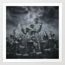 Once More Unto The Breach Art Print