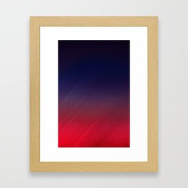 Get your Happy On   Abstract Framed Art Print