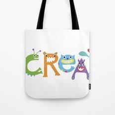 I Create Critters Tote Bag