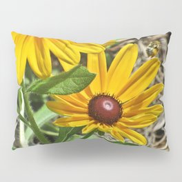 Black-eyed Susans and a Busy Bee Pillow Sham