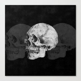 We Left As Skeletons  Canvas Print