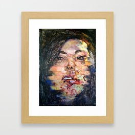 Why Does Your Love Hurt Framed Art Print