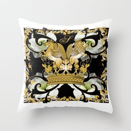 My Empire Collection Summer Set White Flowers Throw Pillow