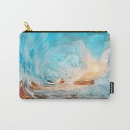 The evening wave Carry-All Pouch