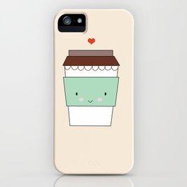 Bring coffee iPhone Case