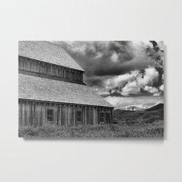 Midway, Utah, Tate Barn Metal Print