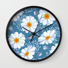 FIELD OF DAISIES Wall Clock