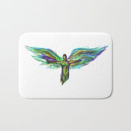 Color Angel Bath Mat