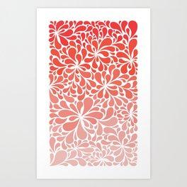 Simple Paisley Art Print
