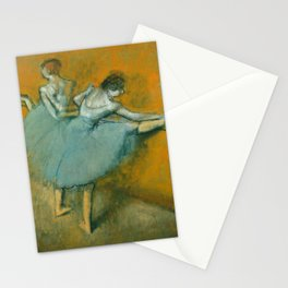 Edgar Degas - Dancers at the Barre Stationery Cards