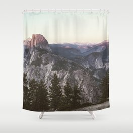 Great Nights in Yosemite Shower Curtain