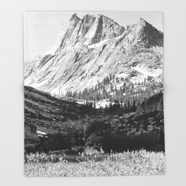 Ansel Adams Photographs of National Parks and Monuments Throw Blanket