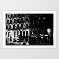 NYPD Art Print