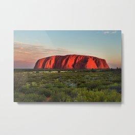 Uluru, Australia Metal Print