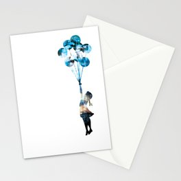 Banksy Balloon Girl Stationery Cards