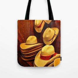 Luckenbach Hats Tote Bag