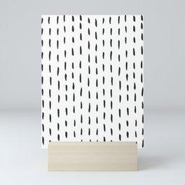 Lines like rain Mini Art Print