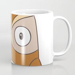 Cartoon Abstract Owl Coffee Mug