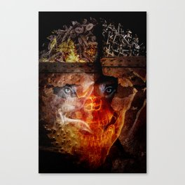 """Steve Bannon: """"Darkness is good. Dick Cheney. Darth Vader. Satan. That's power."""" Canvas Print"""