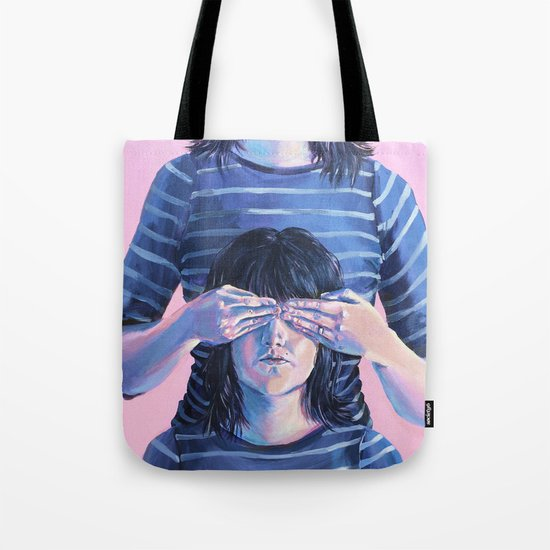 Not Seeing Double Tote Bag