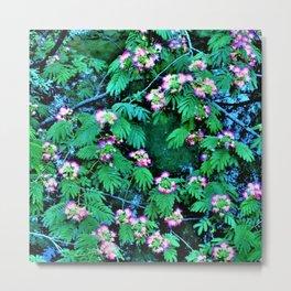 Mimosas on the River Metal Print