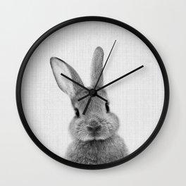 Print 48 - Peekaboo Bunny Wall Clock