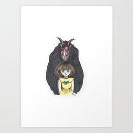 Fran Bow Art Print