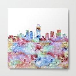 Indianapolis City Skyline Metal Print