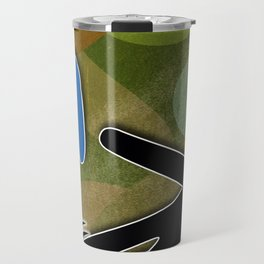 Soccer Sliding Icon Travel Mug