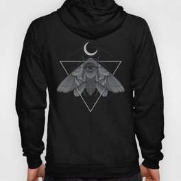 Occult Moth Hoody